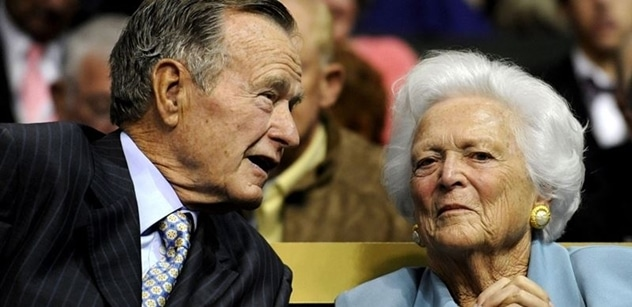 George H. W. Bush a Barbara Bushová