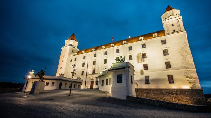 bratislava, castle, castle hill