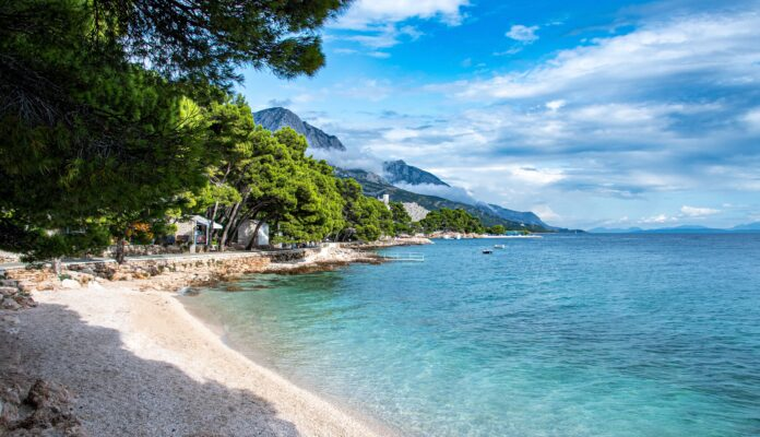 sea, croatia, cove