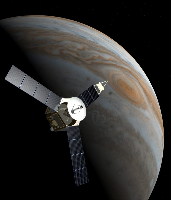 space probe, juno, jupiter