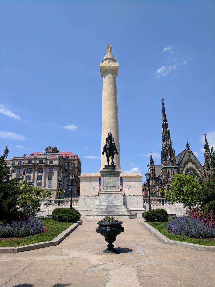 washington monument, marquis de lafayette, lafayette
