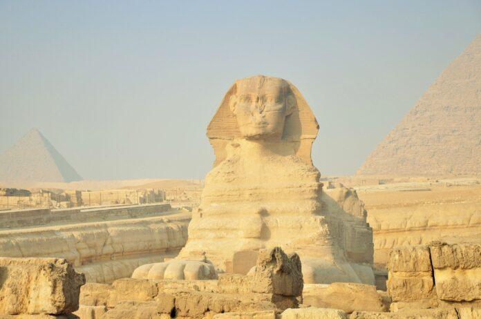 egypt, desert, egyptian temple