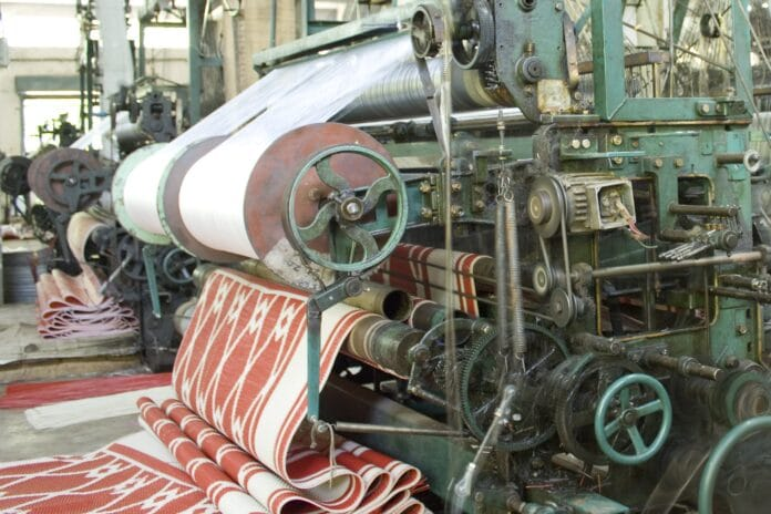 textil, priemysel, fabrika