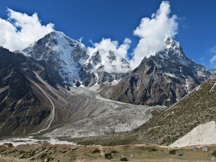mountains, mount everest, base camp