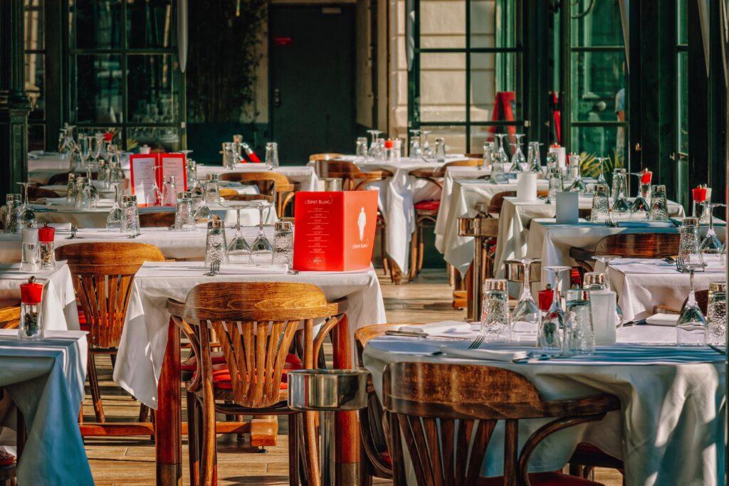 restaurant, gastronomy, guest room