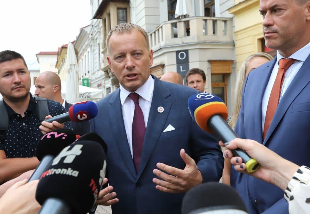 Boris Kollár (Sme rodina) takisto čelil podozreniam z plagiátorstva. Foto: TASR