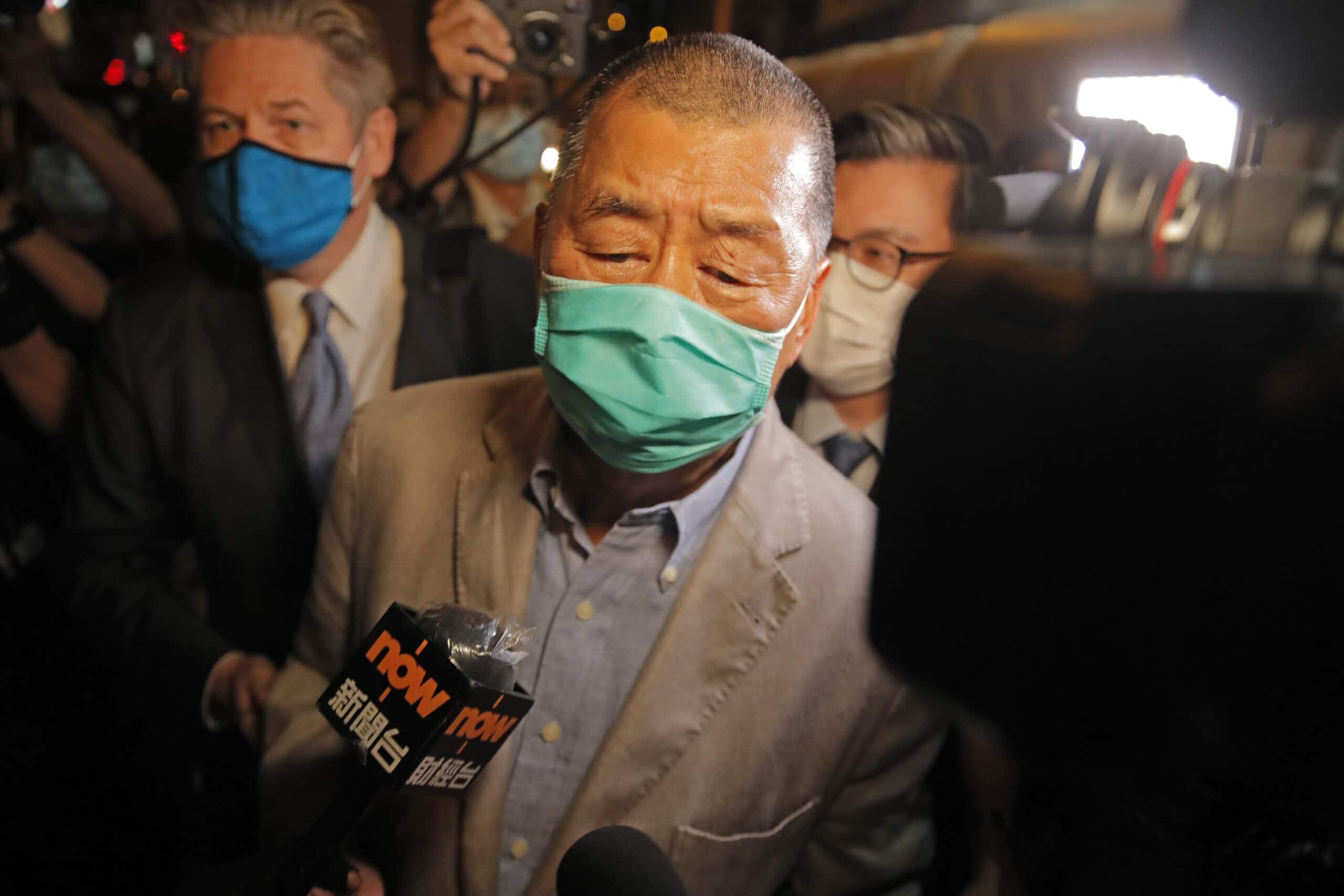 Hongkonského mediálneho magnáta Jimmyho Laia prepustili na kauciu |  Parlamentné Listy