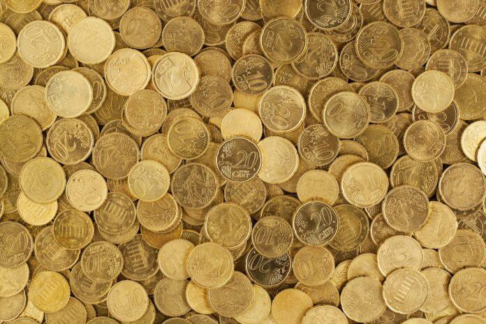 euro, mince