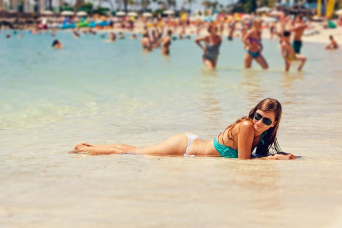 gran canaria, canary islands, bikini