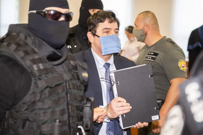 Na snímke obžalovaný Marian Kočner odchádza zo Špecializovaného trestného súdu v Pezinku 31. júla 2020. Foto: TASR - Jaroslav Novák