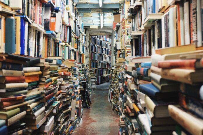 knihy, knižnica