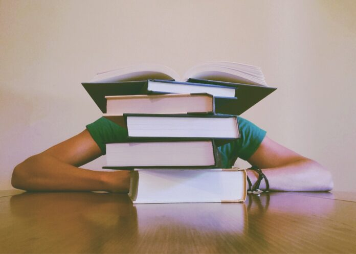 books, student, studying