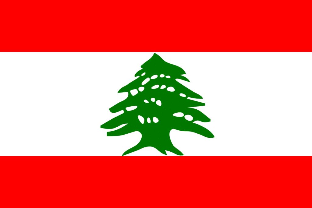 lebanon, flag, national