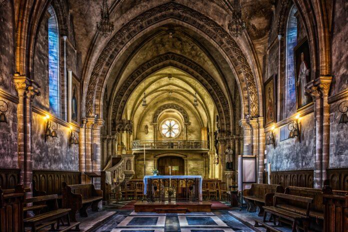 church, architecture, dom
