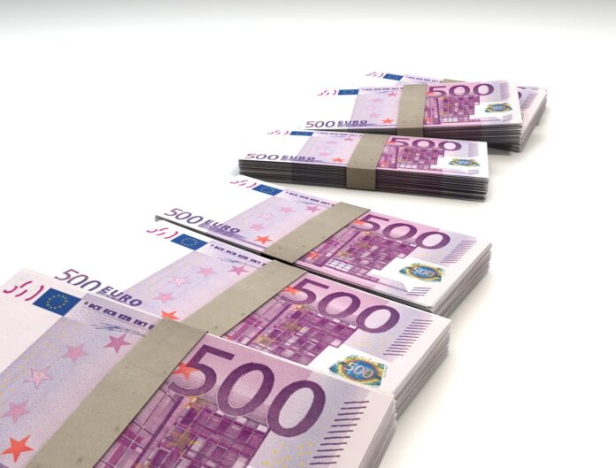 euro, currency, money