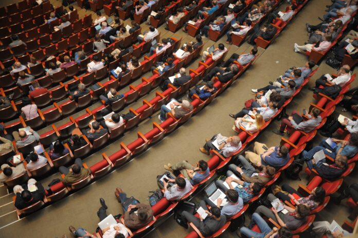event, auditorium, conference