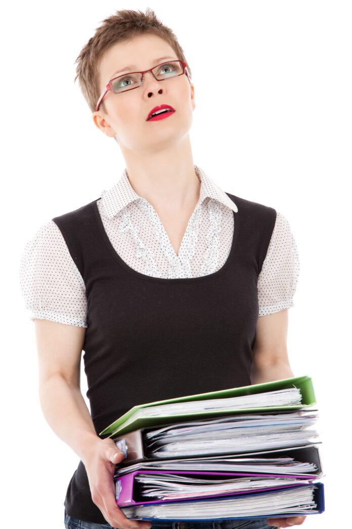 clerk, business, business woman