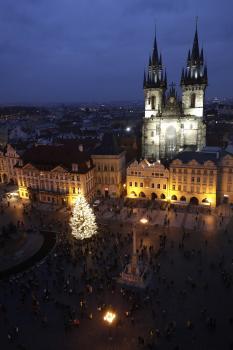 Aj v Prahe pocítili obmedzenia pre koronavírus počas vianočných sviatkov.