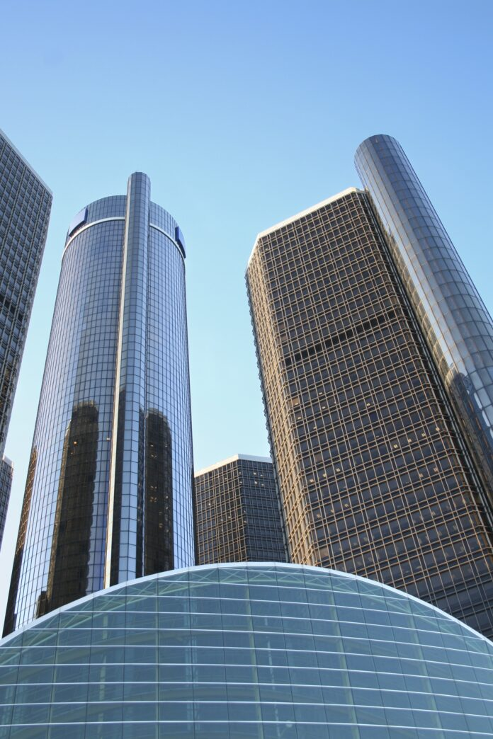 buildings, detroit, general motors headquarters